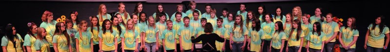 Middle School combined chorus